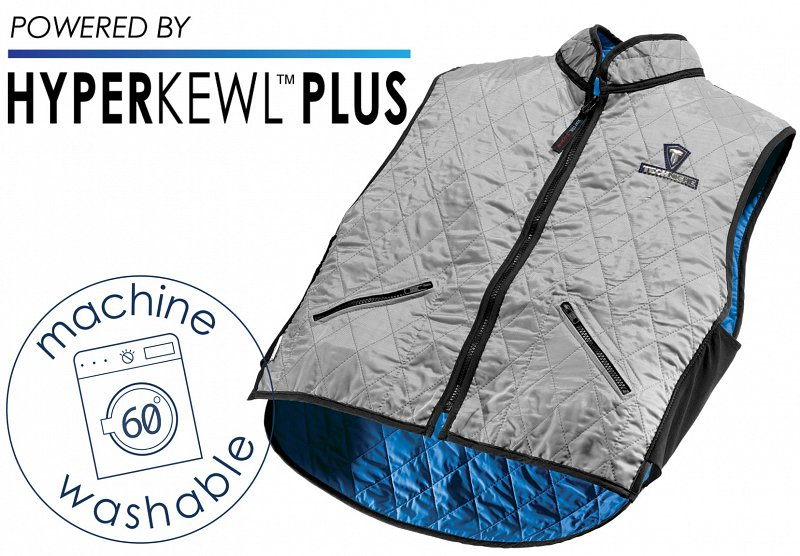 The Next Generation in cooling, the new TechNiche Evaporative Cooling fabric, HyperKewl  Plus