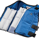 Vest, inserts and cooler bag with each purchase