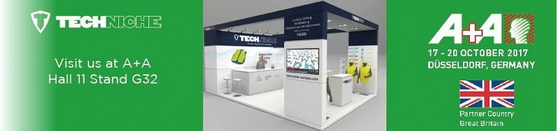 TechNiche Exhibits at A+A Dusseldorf