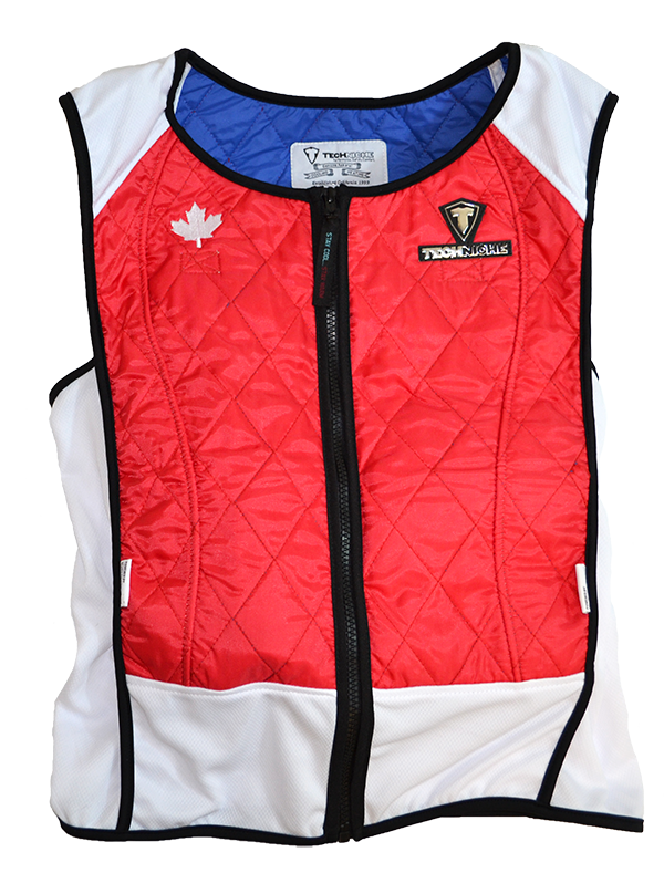 Canadian Triathlon Team Using TechNiche Cooling Vests and Accessories in Preparation for 2020 Olympics